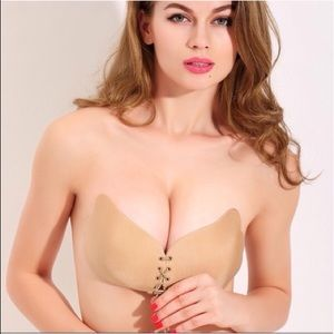 Other - Sexy Strapless Instant Breast Silicone Push Up Bra